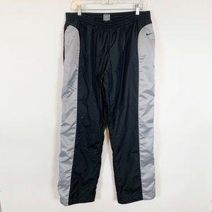 Nike Men's Black & Grey Workout Pants Size XL